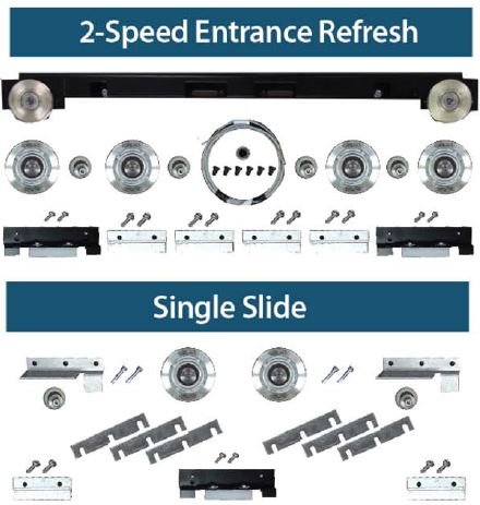 Two Speed Entrance Refresh   Unitec Parts